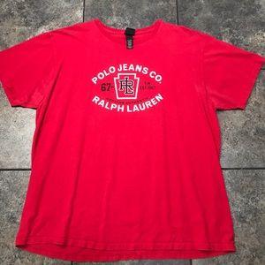 VTG Polo Jeans Co. Ralph Lauren S/S T-Shirt Size L